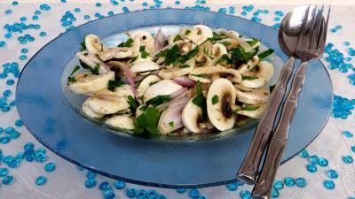 Entrées & salades : Champignons au citron