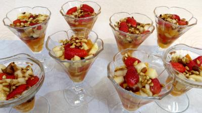 champagne : Salade de fruits champenoise
