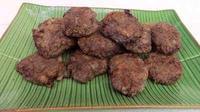 coriandre feuilles deshydraté : Rempah, boulettes de viande indonésienne
