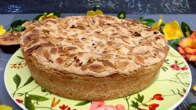 Gâteau : Baiser à la groseille
