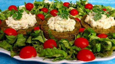 galette : Croustillants de pommes de terre à l'oseille et crevettes