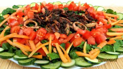Coquillages et crustacés : Blettes aux encornets