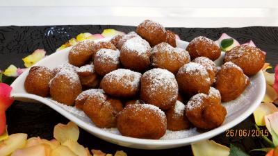 dessert avec légumes : Beignets de pommes de terre