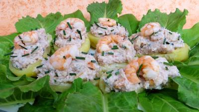 crevette : Barquettes aux crevettes