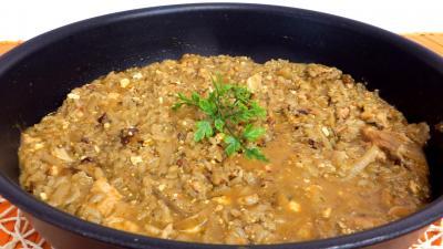 plat complet : sauteuse de risotto à l'oseille