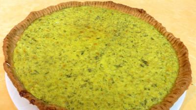 Fromages : Assiette de tarte au caillé