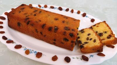 sucre en poudre : Plat du cake anglais