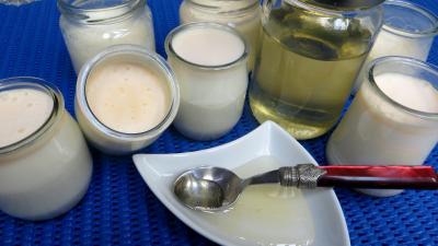 yaourt aromatisé : Yaourts au miel