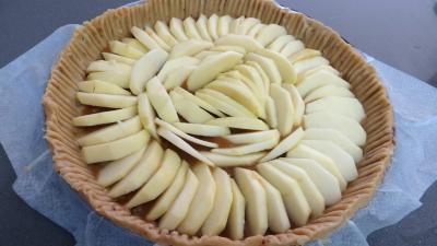 Tarte aux pommes et raisins secs - 4.3