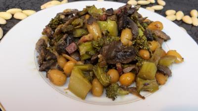 La cuisine des grand-mères : Assiette de brocolis façon amandine