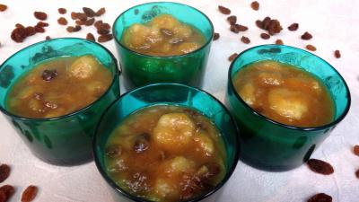 verrines sucrées : Verrines de bananes façon martiniquaise