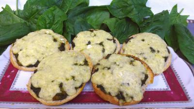 entrée à base de fromage : Plat de tartines au Bresse bleu