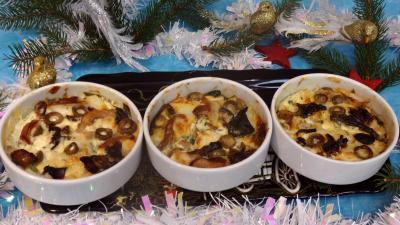 Poissons : Cassolettes de flans de cabillaud