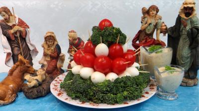 Entrées & salades : Oeufs de cailles en amuse-bouche