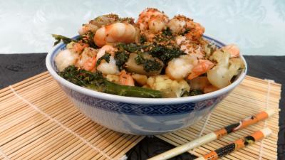 Pâtes alimentaires : Cappellini aux crevettes