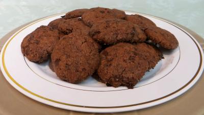 farine : Biscuits moelleux au chocolat