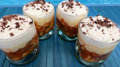Les grands classiques : Verrines de mousse au chocolat blanc et fruits