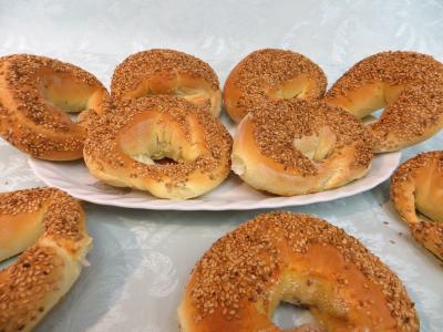 camembert : Bagels au chèvre