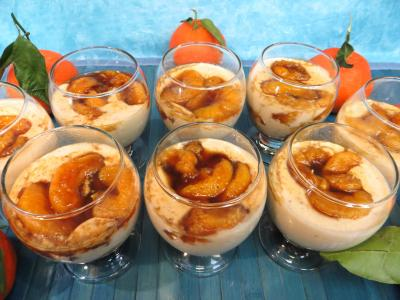 dessert avec gélatine : Blanc-manger aux clémentines