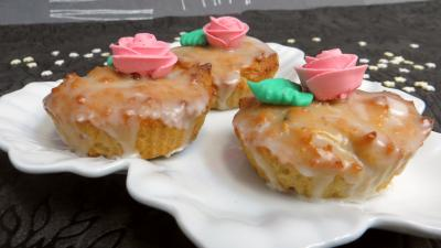 jus de citron : Cupcakes à la noix de coco