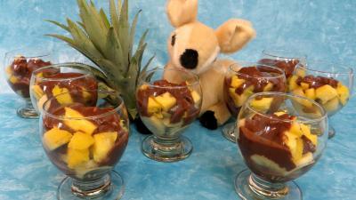 Desserts : Verrines de bananes façon créole