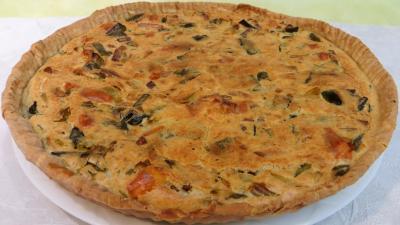 farine : Clafoutis aux poireaux
