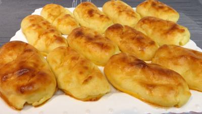 eau de fleur d'oranger : Pommes de terre façon petits pains