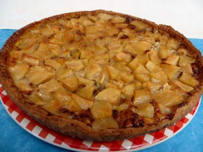 confiture : Tarte aux pommes aux épices
