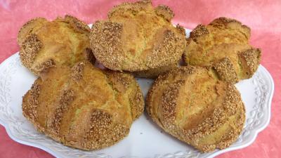 Pains & pâtes : Plat de pains aux épices