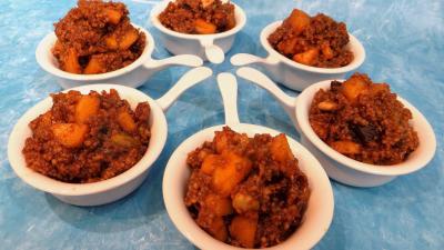 pistache : Coupelles de couscous façon orientale