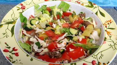 Les grands classiques : Saladier de tomates en salade