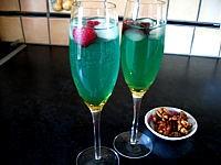 Image : Triple sec - Cocktail valentin au champagne