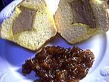 Foie gras en brioche