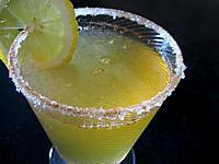 Cuisine diabétique : Verre de cocktail sans alcool aux pommes pour diabétique