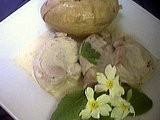 Filet de porc : Filet mignon de porc aux primevères