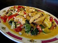 Recette Assiette de courgettes façon chinoise