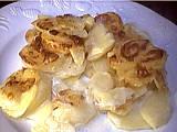 Recette Assiette de gratin dauphinois