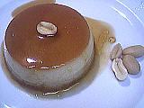 Image : Petit flan aux cacahuètes