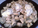 Dés de poulet au gorgonzola - 3.1