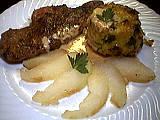 Recette Assiette de foie de veau aux poires
