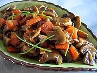 Image : Ramequin de champignons au muscat