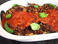 Image : Plat d'aubergines farcies façon libanaise
