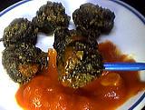 purée de tomate : Assiette d'escargots en cassolettes