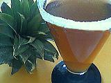 Recette Verre de cocktail à l'ananas