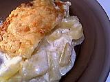 Recette Assiette de gratin parfumé aux pommes de terre