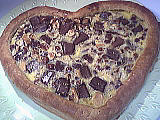 Recette Coeur de croustade au chocolat