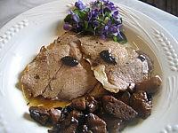 violette : Epaule d'agneau aux cèpes et aux olives
