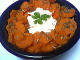 fromage blanc allégé : Saladier de carottes au fromage blanc minceur