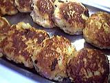 galettes au jambon et pommes de terre