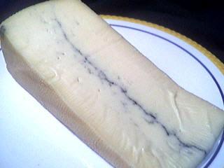 Image : Morbier - Tranche de fromage morbier